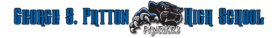 George S. Patton High School  Logo
